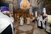 Великая вечерня в Успенском кафедральном соборе в Салавате