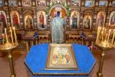 """Всенощное бдение в храме в честь иконы Божией Матери """"Неупиваемая Чаша"""" г. Салавата"""