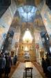 Владыка Николай совершил вечерню с акафистом Божественным Страстям Христовым в Троицком храме г. Ишимбая