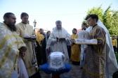 Епископ Николай совершил великое освящение придела Покровского собора мужского монастыря