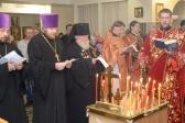 Владыка Николай совершил благодарственный молебен и заупокойную литию по усопшим воинам в День Победы в ВОВ