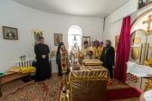 Епископ НИКОЛАЙ совершил всенощное бдение в храме во имя прп. Сергия Радонежского с. Исянгулово Зианчуринского района