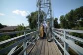 Владыка Николай совершил Таинство Крещения на реке Белая