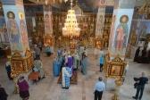 Владыка Николай отслужил утреню с акафистом Табынской Божией Матери