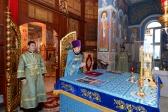 Епископ Салаватский и Кумертауский Николай совершил Божественную литургию в Успенском кафедральном соборе