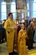 Епископ Николай совершил Божественную Литургию в Иоанно- Предтеченском соборном храме г.Кумертау