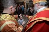Всенощное бдение в престольный праздник совершил Преосвященнейший епископ Николай