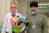 Епископ Николай поздравил помощника главного муфтия в ПФО Насырова Рамиля хазрата с праздником Курбан-байрам