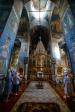 В канун праздника Преображения Господня Преосвященнейший епископ Николай совершил всенощное бдение в Троицком храме г. Ишимбая