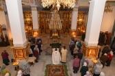Навечерие Богоявления в Успенском кафедральном соборе г. Салавата