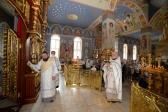 В праздник Преображения Господня Преосвященнейший епископ Николай совершил Литургию в Успенском кафедральном соборе г. Салавата