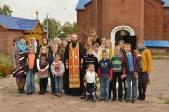 Начало учебного года в Воскресной школе с. Ира