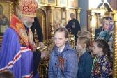 Епископ Николай совершил благодарственный молебен Господу Богу за дарование победы в Великой Отечественной войне и заупокойную литию в Успенском кафедральном соборе