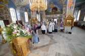 Епископ Николай совершил великую вечерню и утреню с акафистом в Успенском кафедральном соборе г. Салавата