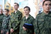 Епископ Николай совершил молебен по случаю открытия II-го епархиального слёта казачьих кадетов Салаватской епархии