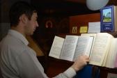 Епископ Николай совершил утреню с чтением акафиста празднику Введения во храм Пресвятой Богородицы