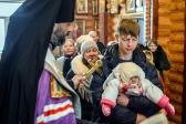 """Водосвятный молебен с акафистом Божией Матери в храме в честь иконы Божией Матери """"Неупиваемая Чаша"""" в Мусино,"""