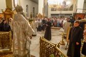 РОЖДЕСТВО ХРИСТОВО. Божественная литургия в Успенском кафедральном соборе г. Салавата