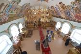 Во вторник Страстной седмицы Преосвященнейший епископ Николай совершил Литургию в храме во имя блж. Варвары на скиту в с.Скворчиха