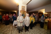 В Великий четверток Преосвященнейший епископ Николай совершил Литургию в Успенском кафедральном соборе в Салавате