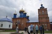 Панихида у памятника казакам