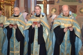Архипастырское служение в кафедральном соборе г. Салавата