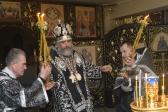 В Великую среду Преосвященнейший епископ Николай совершил Литургию в Успенском кафедральном соборе