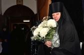 Преосвященнейший епископ Николай совершил Божественную литургию в Марфо-Мариинском женском монастыре с.Ира