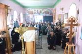 Архипастырское богослужение в ИК-4 и 16 г.Салавата