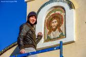 23 октября в Успенском кафедральном соборе состоялась установка надвратных икон