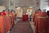 В день отдания Пасхи Христовой Преосвященнейший епископ  Николай совершил Литургию в Николаевском храме с.Николо-Бондаревское
