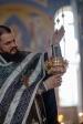Епископ Николай совершил утреню с чтением 12 Евангелий Святых Страстей Господа нашего Иисуса Христа в мкрн. Мусино и в Успенском кафедральном соборе