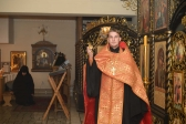 Преосвященнейший епископ Николай совершил утреню с акафистом мученику Вонифатию в Успенском кафедральном соборе