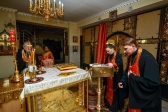 Епископ Николай совершил утреню с акафистом великомученице Анастасии Узорешительнице в Успенском кафедральном соборе