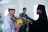 Епископ Николай принял участие в приеме по случаю мусульманского праздника Курбан-Байрам