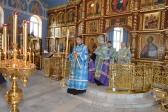 Владыка Николай совершил утреню с акафистом Табынской Божией Матери