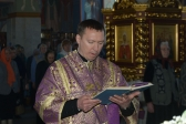 Архипастырское служение в Великую Субботу, в праздник Благовещения Пресвятой Богородицы (фото)