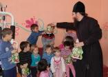 Рождественский праздник в детском приюте поселка Чишмы
