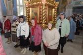 В канун праздника Воздвижения Креста Господня Преосвященнейший епископ Николай совершил всенощное бдение в Успенском соборе в Салавате
