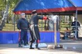 """В Кумертау прошли соревнования по рубке шашкой """"Казарла"""""""
