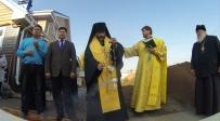 Епископ Николай совершил освящение закладного камня в основание Воскресной школы