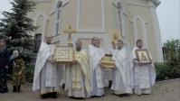 Епископ Николай совершил Божественную Литургию в Успенском кафедральном соборе