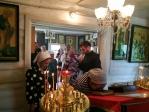 Преосвященнейший епископ Николай совершил всенощное бдение в Екатерининском храме в Кожай-Семеновке
