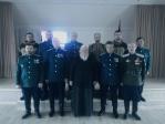 Архимандрит Николай принял участие в отчетно-выборном казачьем Круге