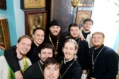 Клирик Успенского собора принял участие в торжественном мероприятии посвященном встречи выпускников КазПДС