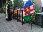 «Свеча памяти» на территории мемориального комплекса г. Салавата «Вечный огонь»