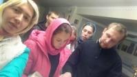 Активисты молодежной организации начали подготовку к богослужению, посвященную Покрову Божией Матери