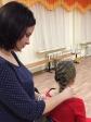 Очередное занятие по парикмахерскому искусству