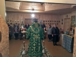 Преосвященнейший епископ Николай совершил Литургию в Михаило-Архангельском храме с. Ново-Михайловка
