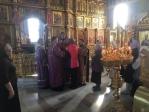 Православные добровольцы причастились Христовых Тайн